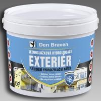 Jednosložková flexibilní hydroizolace Exteriér Den Braven 5kg