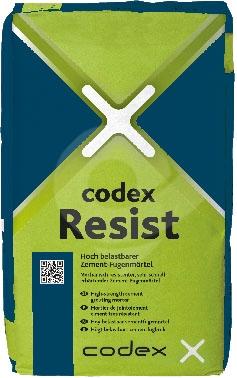 Spárovací hmota cementově šedá CODEX Resist 12,5kg