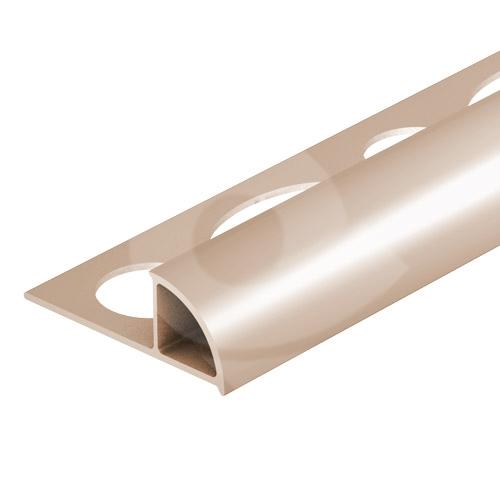 Ukončovací lišta obloučková uzavřená PVC 6 mm 2,5 m bahama