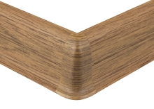 Cezar PREMIUM vnější roh, PVC, 59mm, dub kanadský, dekor 127