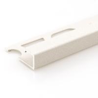 Čtvercový ukončovací profil Profilpas hliník lakovaný matný pískový 8mm 2,7m