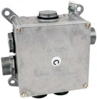 Kovová elektroinstalační krabice Kopos 119x119x78mm