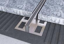 Dilatační lišta povrchová teplem vulkanizovaná Ligma nerez 15mm 2,5m
