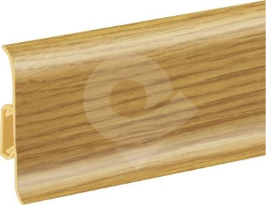 Podlahová lišta soklová Cezar Duo 135