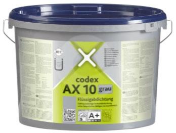 CODEX AX 10 A+B - Izolační stěrka, zelená