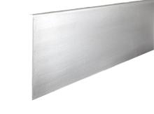 Krycí lišta boční levá ke hliníkovému kotevnímu profilu pro skleněné zábradlí
