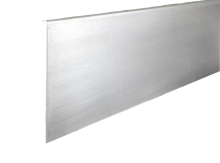 Krycí lišta boční pravá ke hliníkovému kotevnímu profilu pro skleněné zábradlí