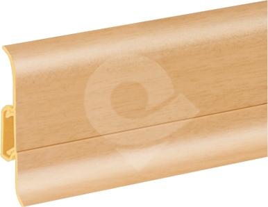 Podlahová lišta soklová Cezar Duo 93