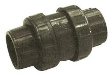 Kuželový zpětný ventil 50mm - poteflonovaná pružina