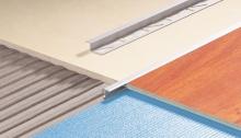 Spojovací lišta pro dlažbu a laminát Z profil Cezar eloxovaný hliník 10mm 2,5m