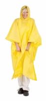 Pončo pvc žluté