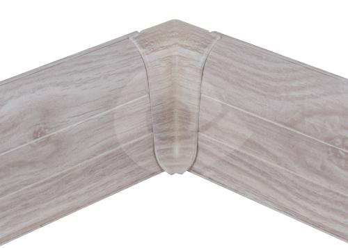 Cezar PREMIUM vnitřní roh, PVC, 59mm, dub aspen, dekor 163