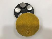 Diamantový 5-bodový brusný nástroj zrnitost 100 (suchý zip) pro broušení betonu, terrazza a žuly