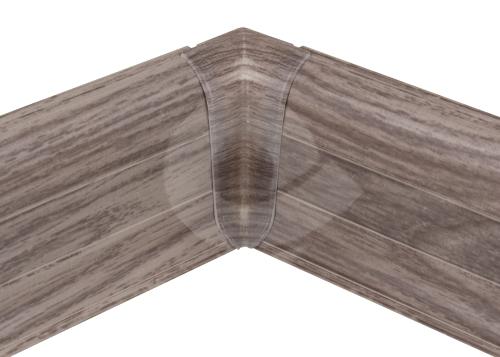 Cezar PREMIUM vnitřní roh, PVC, 59mm, dub rovinný, dekor 155