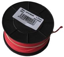 Šnůra obkladačská 0,5 mm x 100 m červená
