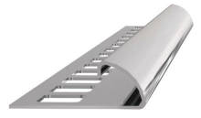 Ukončovací lišta obloučková nerez 10mm 2,5m