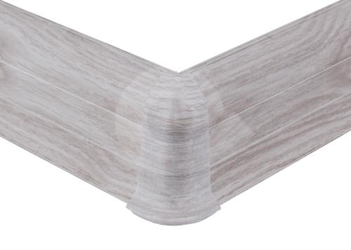 Cezar PREMIUM vnější roh, PVC, 59mm, dub aspen, dekor 163