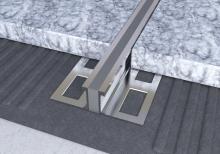 Dilatační lišta povrchová teplem vulkanizovaná Ligma AL 10mm 2,5m