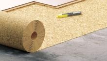 Podložka pod podlahy korková tloušťka 2 mm 1x10 m role