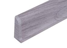Cezar PREMIUM koncovka levá, PVC, 59mm, dub světle šedý, dekor 078
