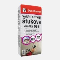 Den Braven vnitřní a vnější štuková omítka DB II 25kg