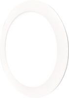 Svítidlo LED panel ligt 18W, 225mm, bílá, 6500K, bílý rámeček