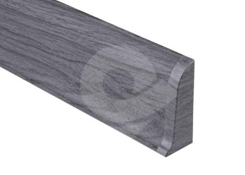 Cezar PREMIUM koncovka pravá, PVC, 59mm, dub tmavě šedý, dekor 079