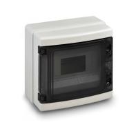 Nástěnná rozvodnice D-BOX, 8 modulů 210x215x100mm