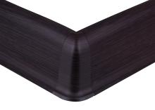 Cezar PREMIUM vnější roh, PVC, 59mm, wenge tmavý, dekor 200