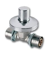Mosazný podomítkový uzavírací ventil Press Ivar.PT 5727