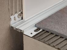 Celokovová objektová dilatace podlaha/zeď Profilpas Projoint NZS/L eloxovaný hliník 12,5mm 2,7m