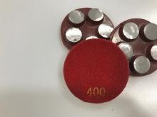 Diamantový 5-bodový brusný nástroj zrnitost 400 (suchý zip) pro broušení betonu, terrazza a žuly