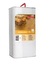 Lněný olej pro dřevěné a parketové podlahy s vysokým zatížením Synteko Hardwax Oil 5 l