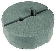 Betonový podstavec DEHN 240/8, 5 kg s klínem
