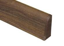 Cezar PREMIUM koncovka pravá, PVC, 59mm, dub pálený, dekor 179