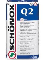 Lepidlo se sníženým skluzem a prodlouženou dobou zavadnutí Schonox Q2 C2TE 25kg