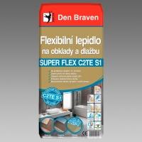 Flexibilní lepidlo na obklady a dlažbu SUPER FLEX C2TE S1 25kg