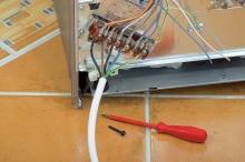 Zapojení elektrospotřebiče (sporák, trouba, digestoř, boiler)