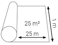 Podložka pod podlahy Cezar Miralon 2mm 25m2