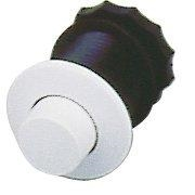 Pneumatické tlačítko bílé vystouplé