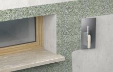 Aplikace dekorační omítky (marmolit), cena práce za m2 bez materiálu