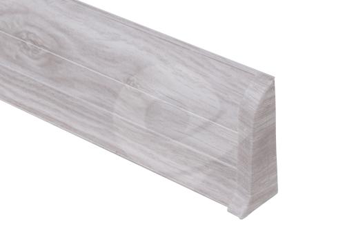 Cezar PREMIUM koncovka pravá, PVC, 59mm, dub aspen, dekor 163