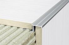 Montáž schodových hliníkových a nerezových hran, cena práce za bm