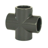 Bazénová pvc tvarovka kříž 25mm