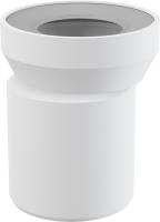 Dopojení k WC - excentrický nátrubek 158 mm Alcaplast