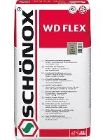 Spárovací hmota flexibilní pro spáry 1-6mm Schonox WD Flex bílá 5kg