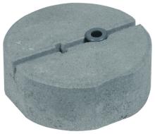 Betonový podstavec DEHN se závitem M16 8,5 kg 240 mm
