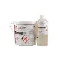 Polyuretanoepoxidová stěrka na prům. podlahy, stěny, jímky, garáže EP 31 RAL 7001 25kg