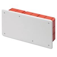 Rozbočovací a propojovací krabice s víkem pod omítku 294x152x70mm