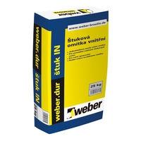 Štuková omítka vnitřní Weber dur štuk IN 25kg